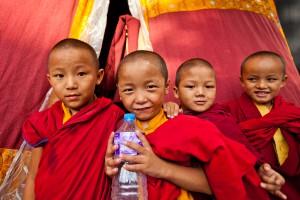 Buddhisten, Nepal.