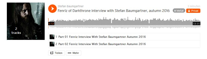 Interview Darkthrone