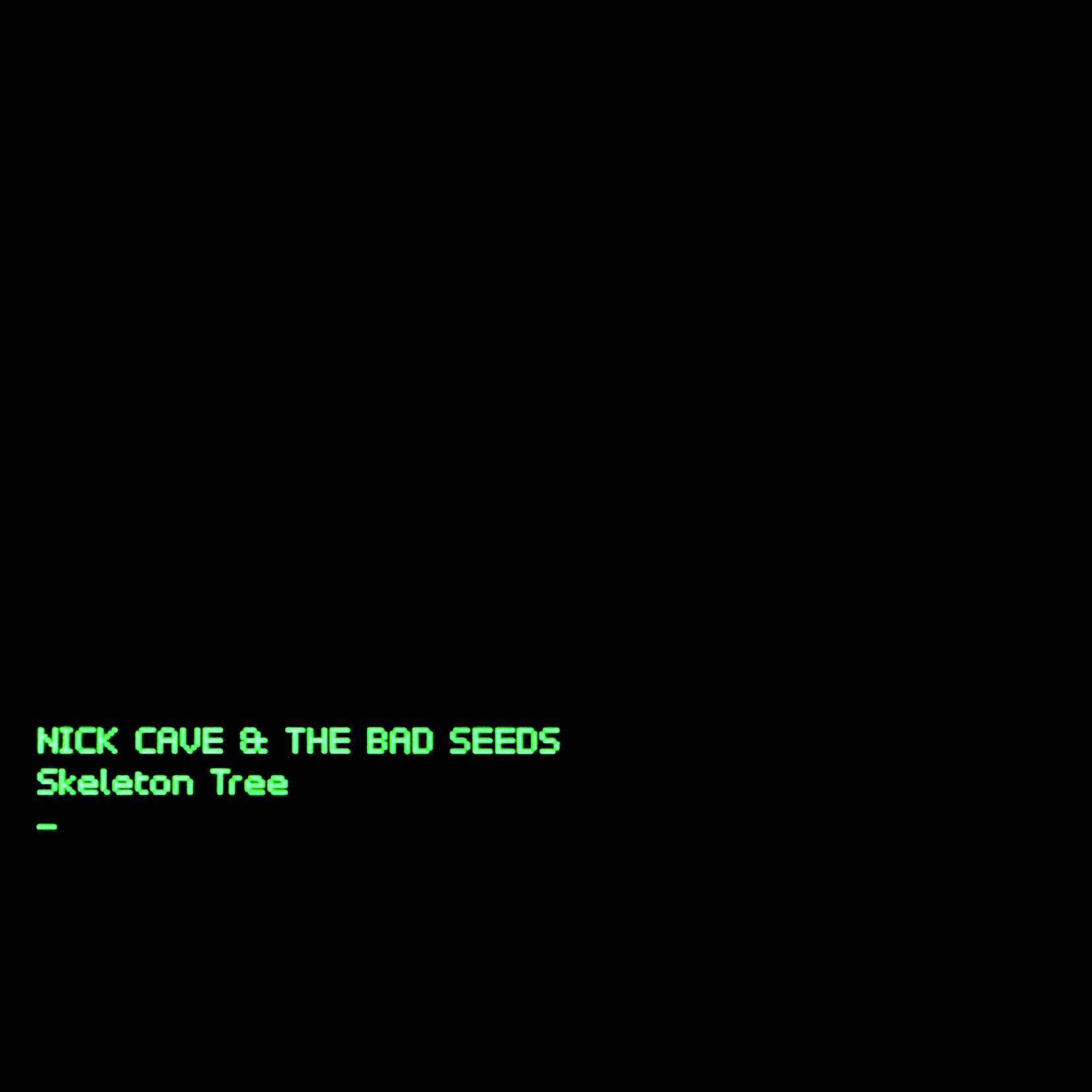 Nick Cave Cover Skeleton Tree