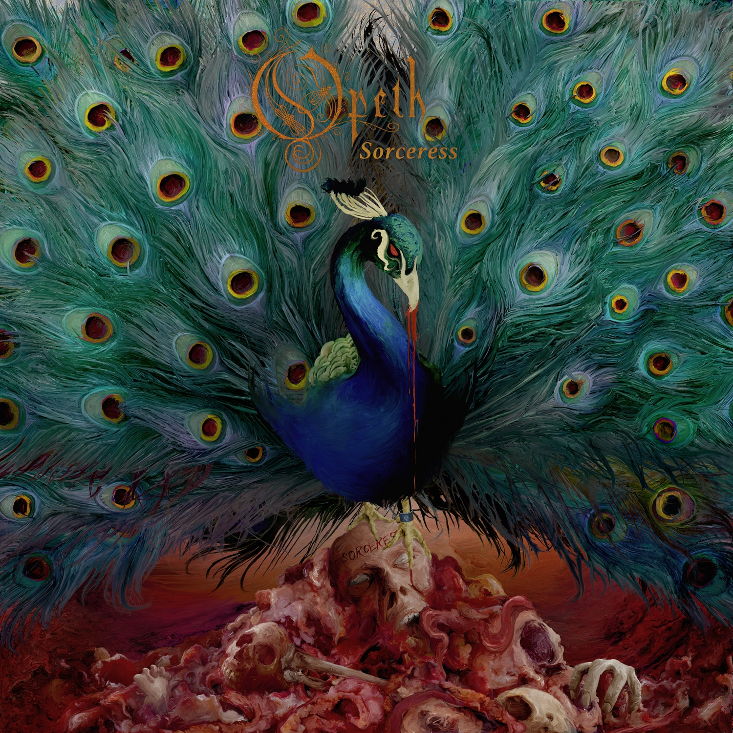 Opeth - Sorceress - Artwork