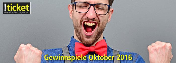 Gewinnspiele ticket Oktober