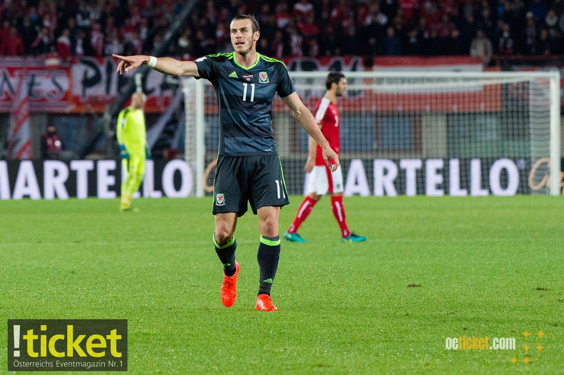 Gareth Bale, der große Star der walisischen Mannschaft.