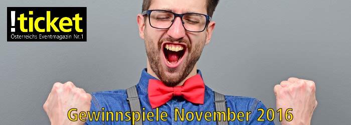Gewinnspiele November