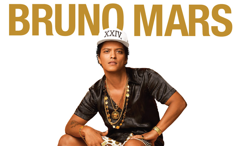 Bruno Mars live in Wien 2017