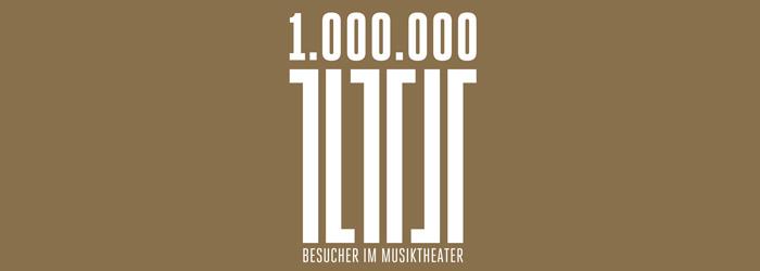 Eine Million Besucher/innen im Linzer Musiktheater
