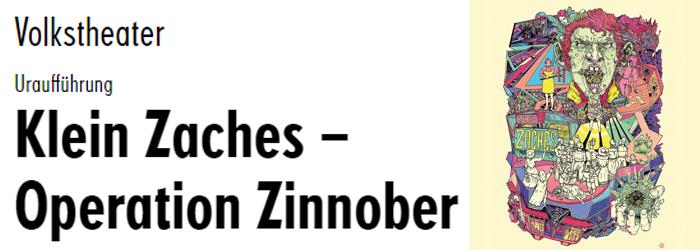 Gewinnspiel: Klein Zaches Volkstheater Wien