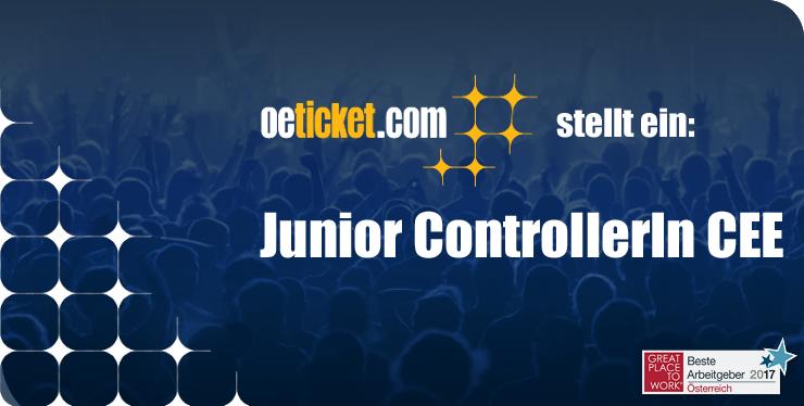 oeticket stellt ein: Junior ControllerIn CEE width=