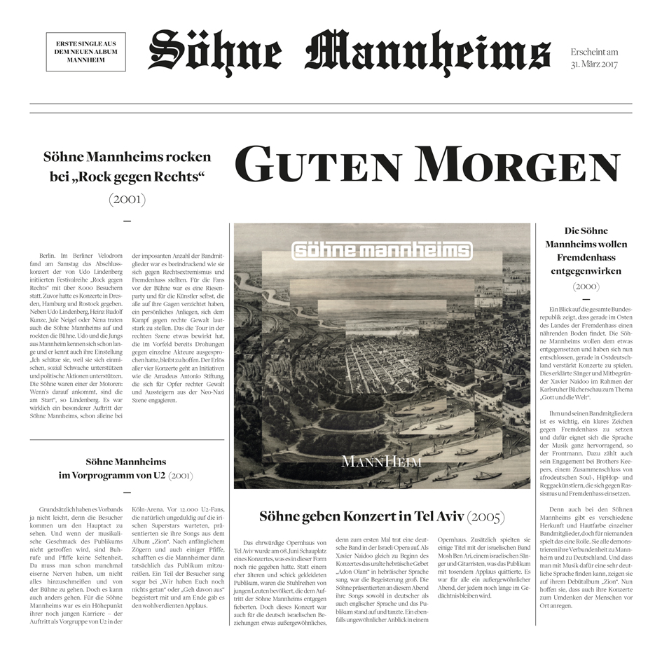 Söhne Mannheims Guten Morgen
