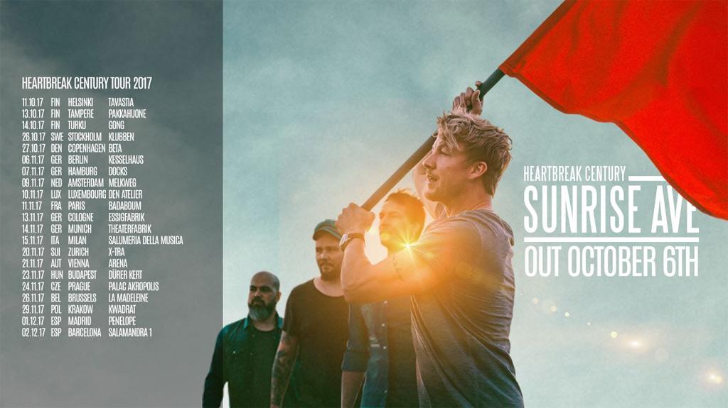 Sunrise Avenue - 2017 live in der Arena Wien