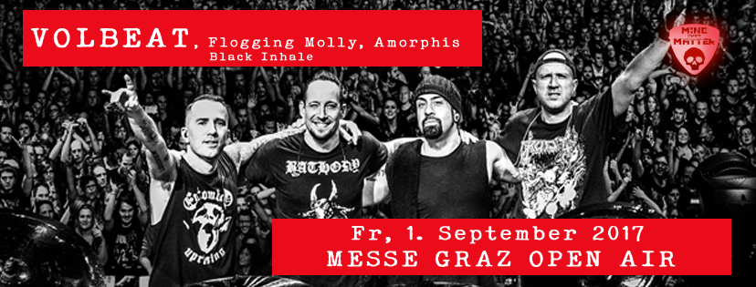 Volbeat Graz Alle Infos Tickets Ticket 2017