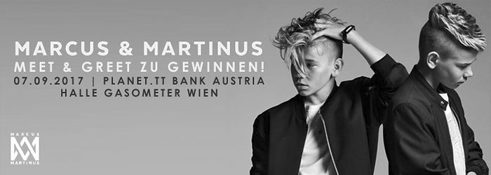 Marcus und Martinus Meet and Greet Tour 2017 Wien