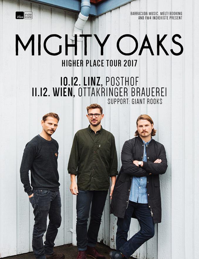 Migthy Oaks Tour 2017 Wien Linz