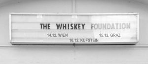 The Whiskey Foundation Termine Tour 2017