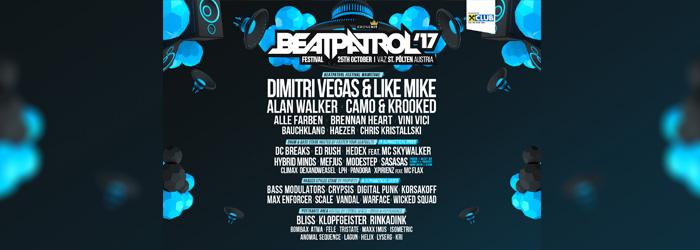 Beatpatrol Festival Kronehit St. Pölten Elektro alle Infos Ticket Tickets
