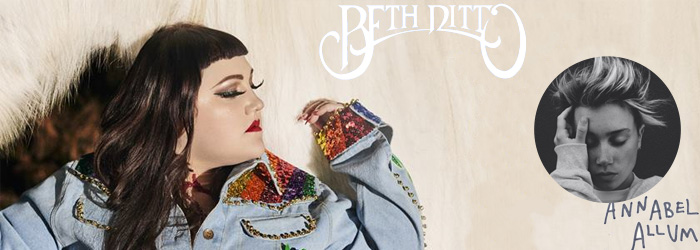 Beth Ditto Annabel Allum Tour Wien Arena Ticket Tickets 2017