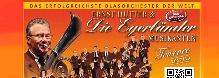 Ernst Hutter und die Egerländer Musikanten Tickets gewinnen