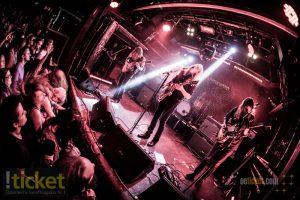 Graveyard + Troubled Horse Flex Fotoreport Rock Ticket Tickets
