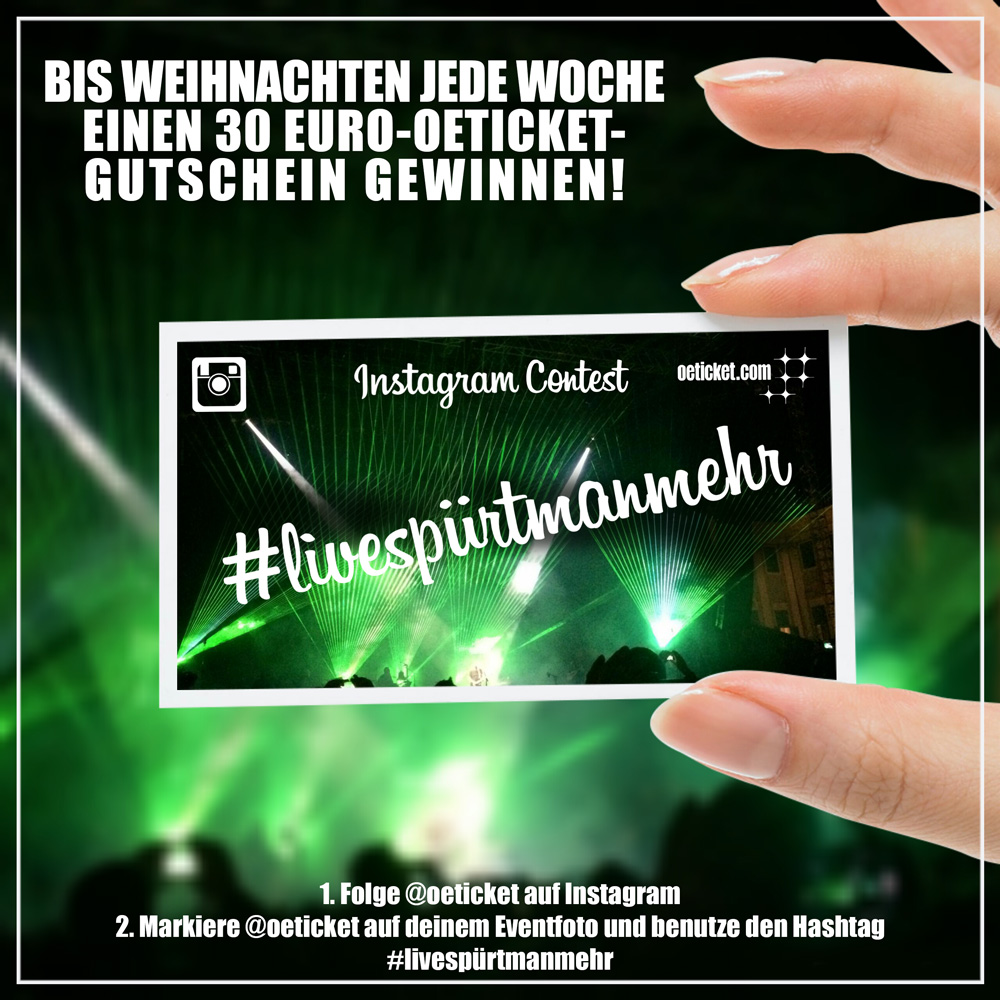 instagram follower werden und 30 euro oeticket gutschein gewinnen oeticket blog live news. Black Bedroom Furniture Sets. Home Design Ideas