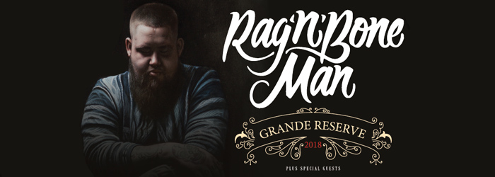 Rag'n'Bone Man Ticket Tickets 2018 Grand Reserve Tour Wien