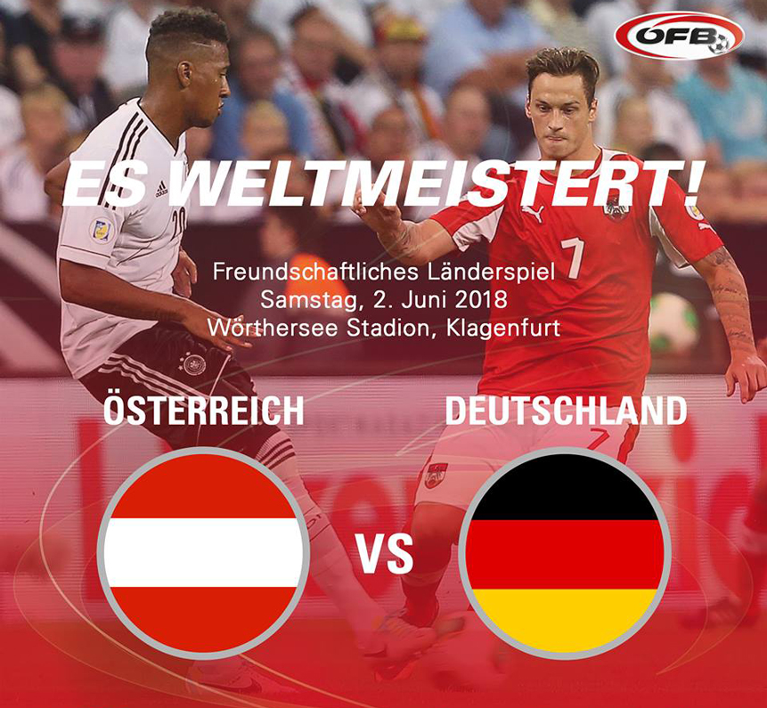 testspiel deutschland österreich