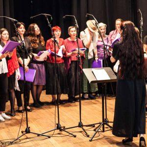 Weltkultur-Frauenchor – das Kernprojekt der WeltKulturSchule szene world female festival 2018