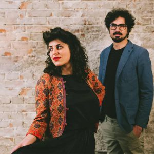 Das iranische Duo Golnar & Mahan szene world female festival 2018