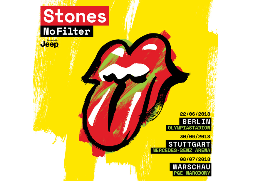 "The Rolling Stones ""No Filter""-Tour 2018 - oeticket - blog ... Rolling Stones Tour 2018"