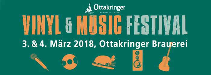 vinyl & music Festival 2018 Ottakringer brauerei