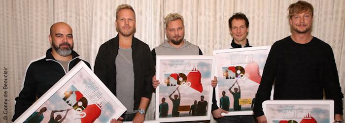 """Sunrise Avenue Gold Auszeichnung """"Heartbreak century"""""""