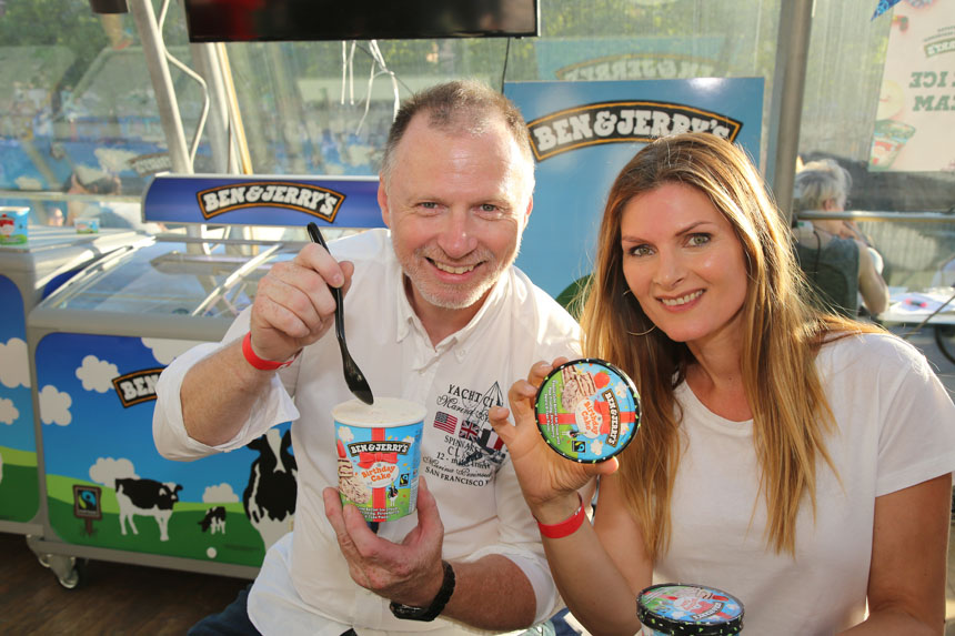 40. Birthday of Ben&Jerry's @Adria Wien (Glashaus) 07.05.2018
