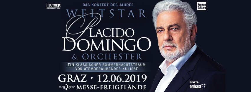 Plácido Domingo 2019 In Graz Oeticket Blog Live News