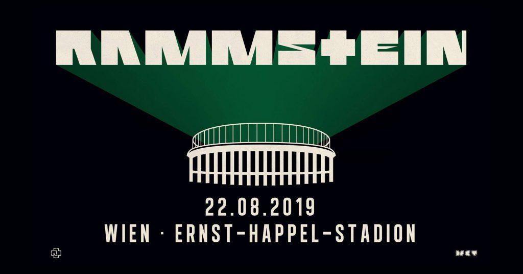 Rammstein 2019 Im Wiener Ernst Happel Stadion Update Zusatzshow