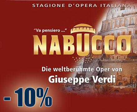 NABUCCO – Die weltberühmte Oper von Giuseppe Verdi