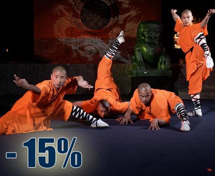 Die Mönche des Shaolin Kung Fu - Die Jubiläumsshow
