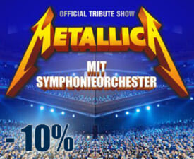 METALLICA S&M TRIBUTE SHOW mit Symphonieorchester