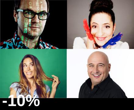 Kabarett Mixed Show - Vogl, Athanasiadis, Hartmann, Fälbl