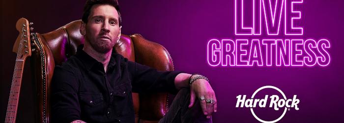 Hard Rock Lionel Messi