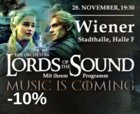 LORDS OF THE SOUND in programm
